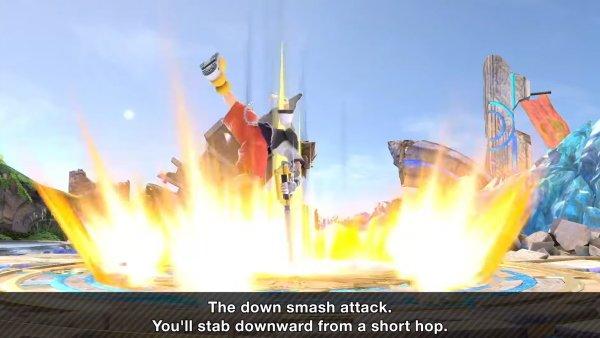 Sora Moveset smash Ultimate down smash