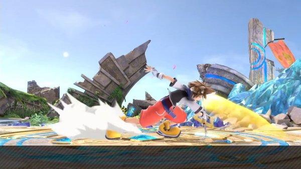 Sora Moveset smash Ultimate down tilt