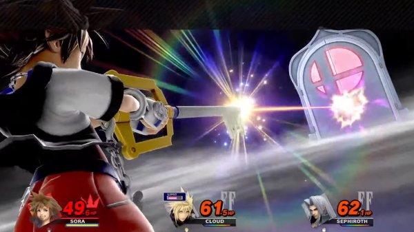Smash ultimate Sora final smash