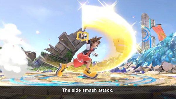 Sora Moveset smash Ultimate forward smash
