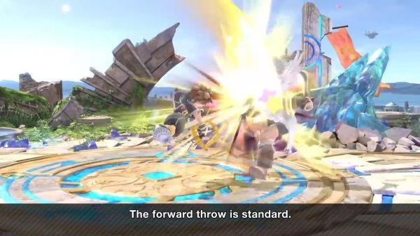 Sora moveset Smash Ultimate forward throw