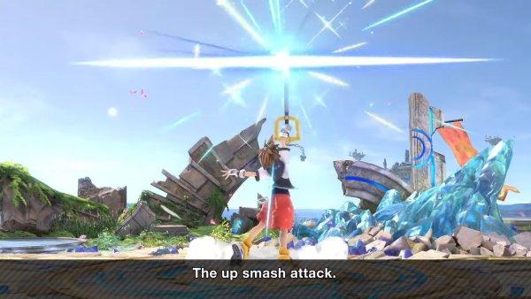Sora Moveset smash Ultimate up smash