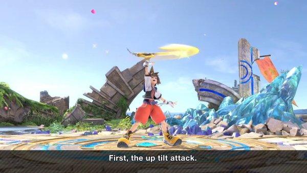 Sora Moveset smash Ultimate up tilt