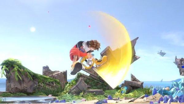 Sora moveset Smash Ultimate neutral air
