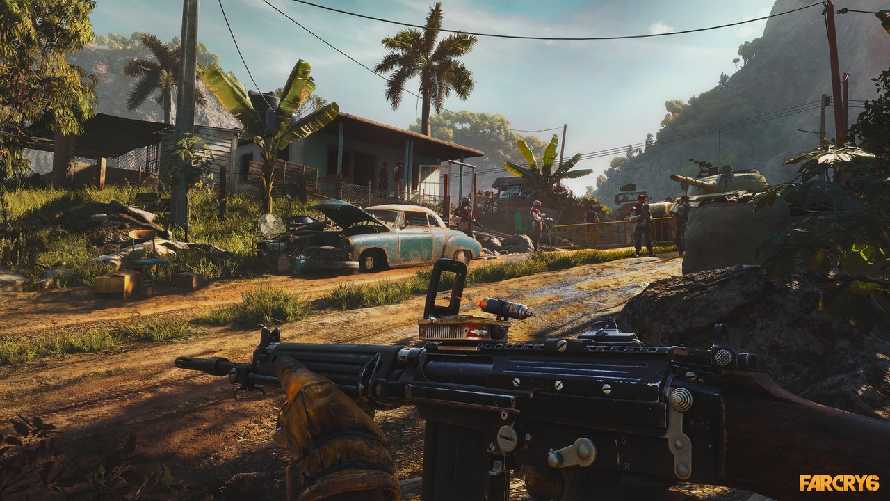 How to find the M16 in Far Cry 6 © Ubisoft