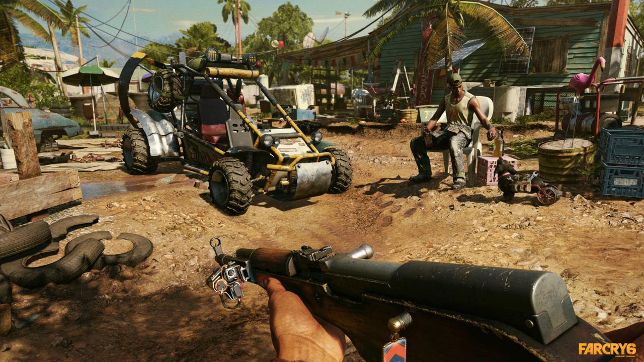 How to get the best sniper rifle in Far Cry 6 © Ubisoft